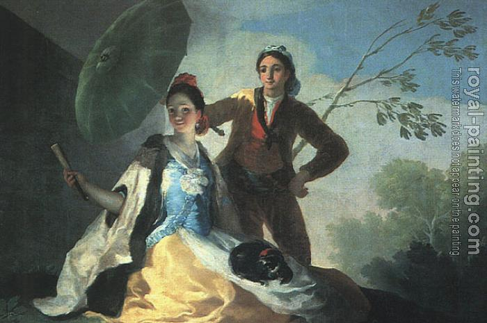 Francisco De Goya : The Parasol II