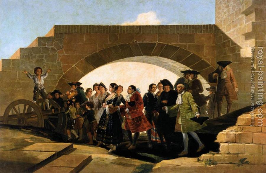 Francisco De Goya : The Wedding