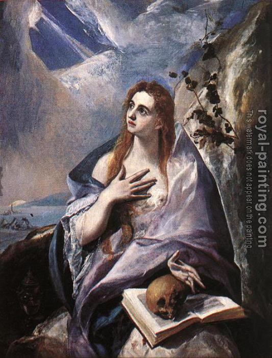 El Greco : The Magdalene