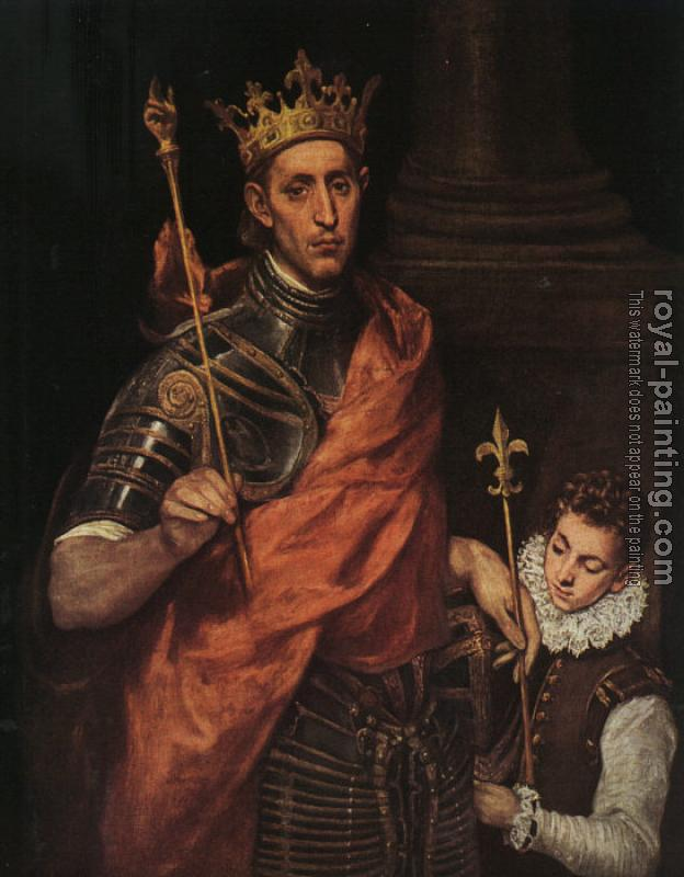El Greco : St. Louis: King of France
