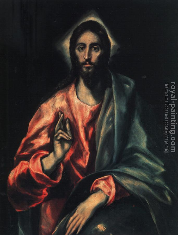 El Greco : The Saviour