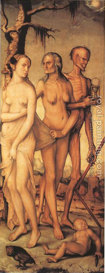 Hans Baldung Grien : Three Ages of Man and Three Graces