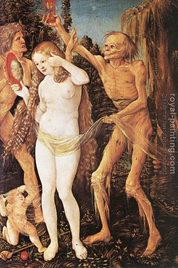 Hans Baldung Grien : Three Ages of the Woman and the Death