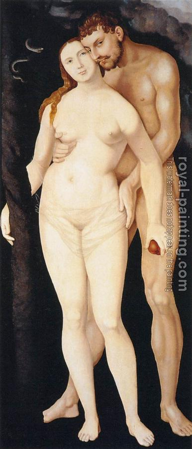 Hans Baldung Grien : Adam and eve III