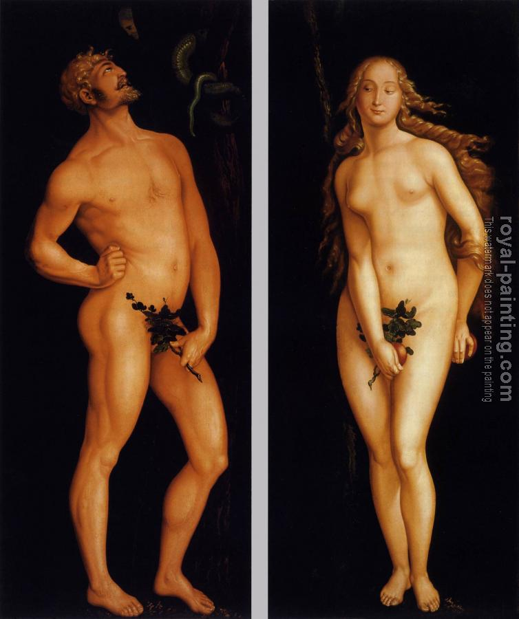 Hans Baldung Grien : Adam and Eve IV