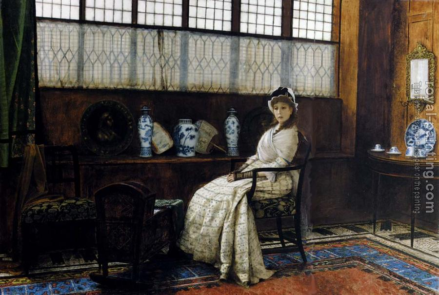 John Atkinson Grimshaw : The Cradle Song