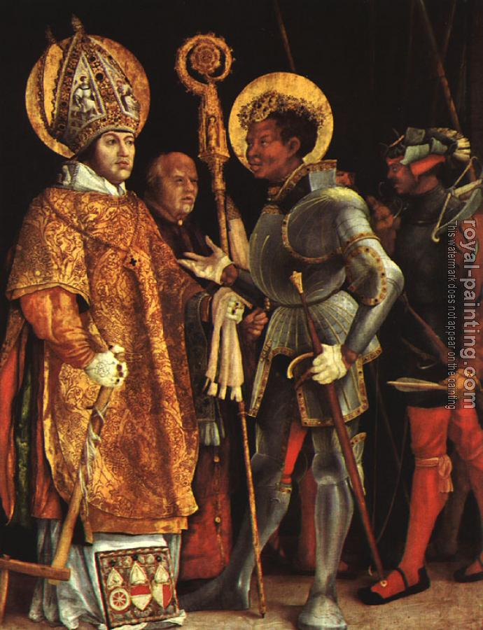 The Disputation of St.Erasmus and St.Maurice