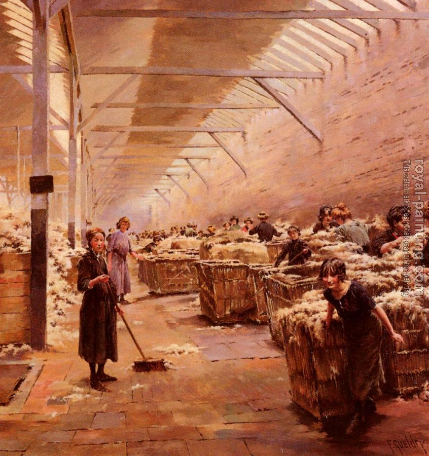 Ferdinand Joseph Gueldry : The Wool Shed
