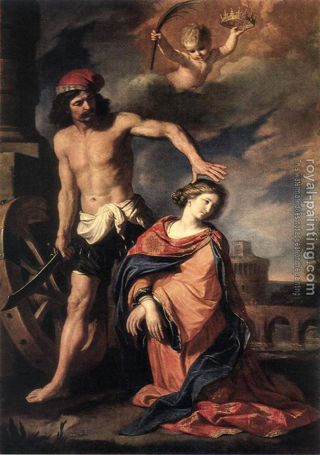 Guercino : Martyrdom of St Catherine