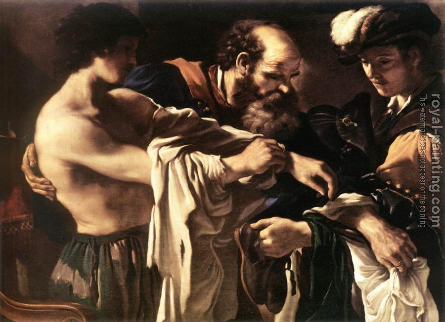 Guercino : Return of the Prodigal Son