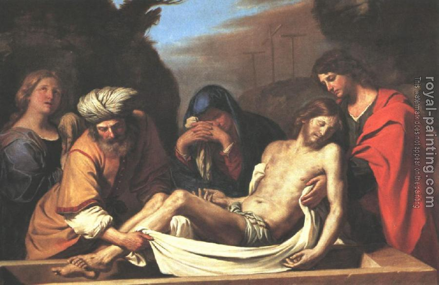 Guercino : The Entombment of Christ