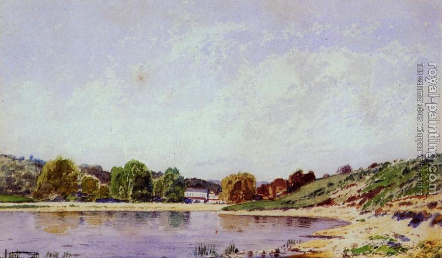 Paul-Camille Guigou : A Bend in the Durance River