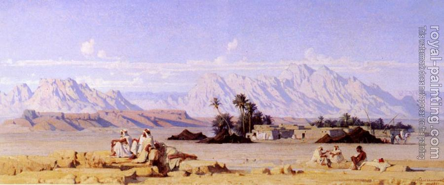 Gustave Guillaumet : The Oasis