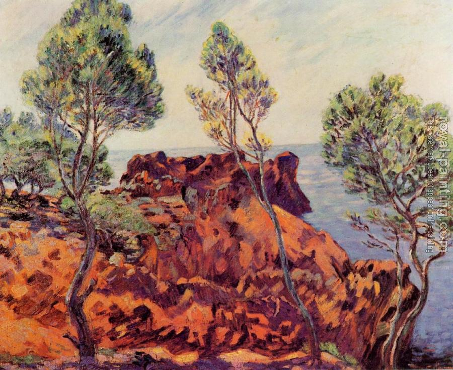 Armand Guillaumin : Agay, the Red Rocks