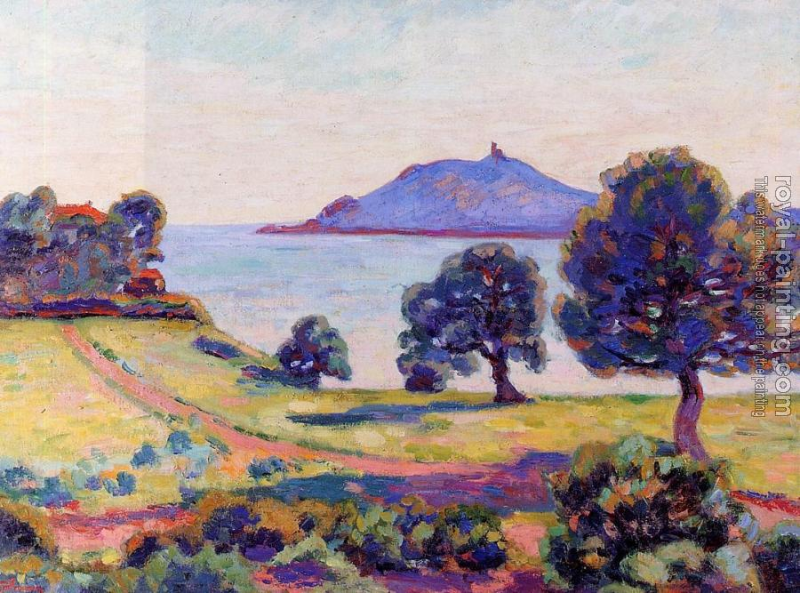 Armand Guillaumin : Agay, the Chateau and the Signal Tower