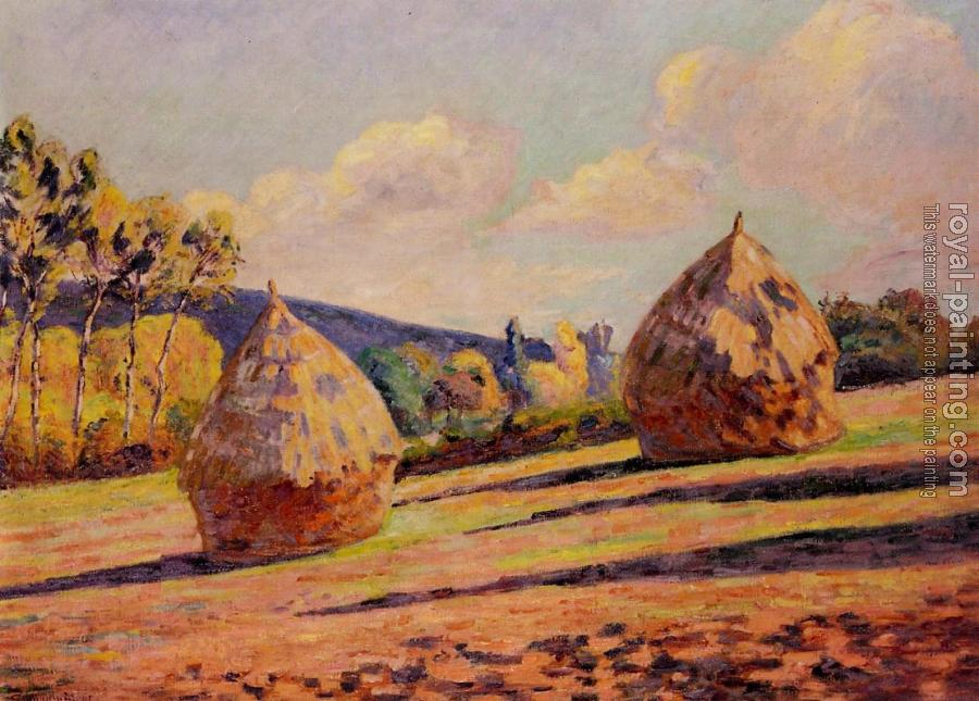 Armand Guillaumin : Grainstacks