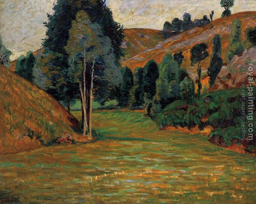 Armand Guillaumin : Small Valley at Pontgibaud