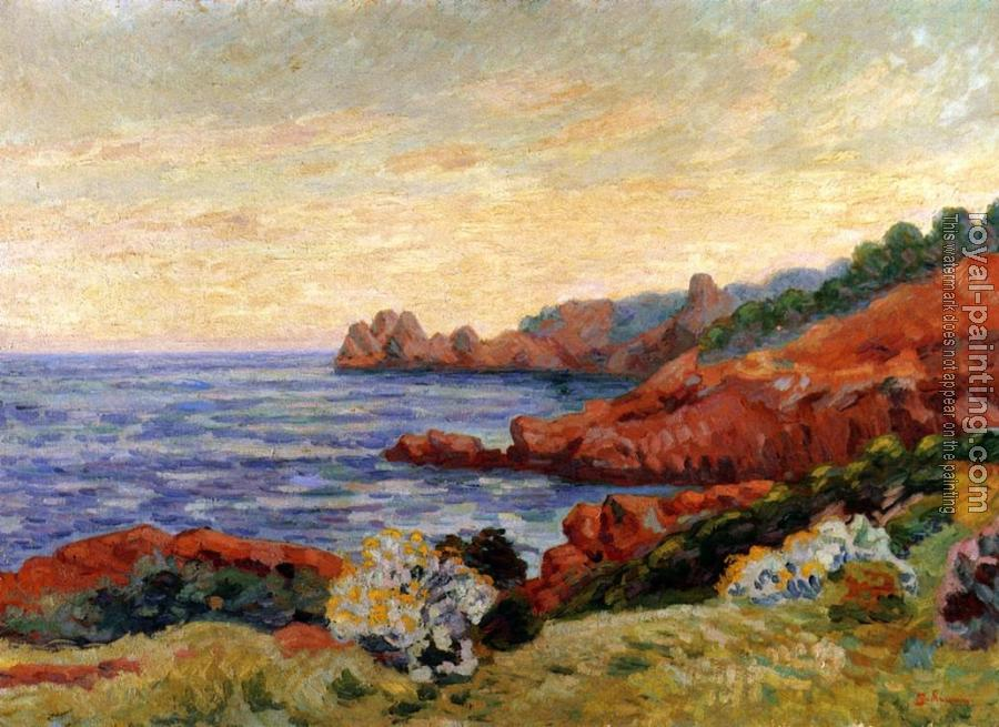 Armand Guillaumin : The Red Rocks at Agay