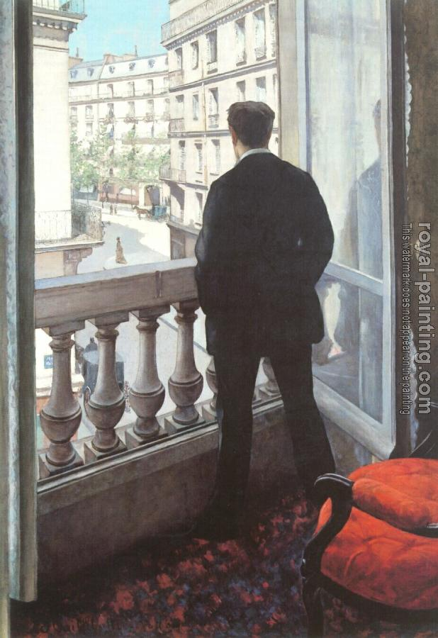 Gustave Caillebotte : A Young Man at His Window