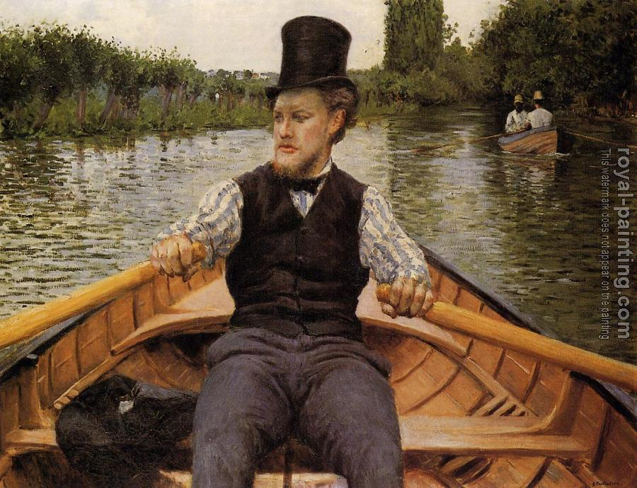 Gustave Caillebotte : Boating Party