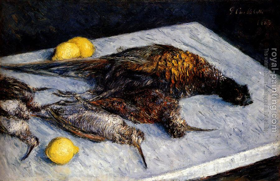 Gustave Caillebotte : Game Birds And Lemons