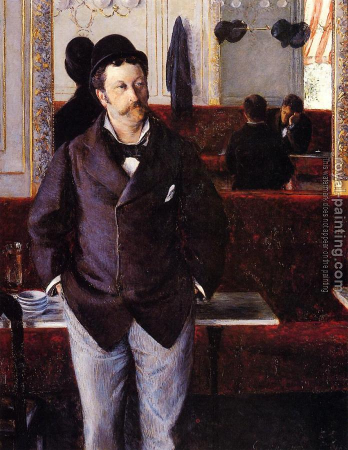 Gustave Caillebotte : In a Cafe