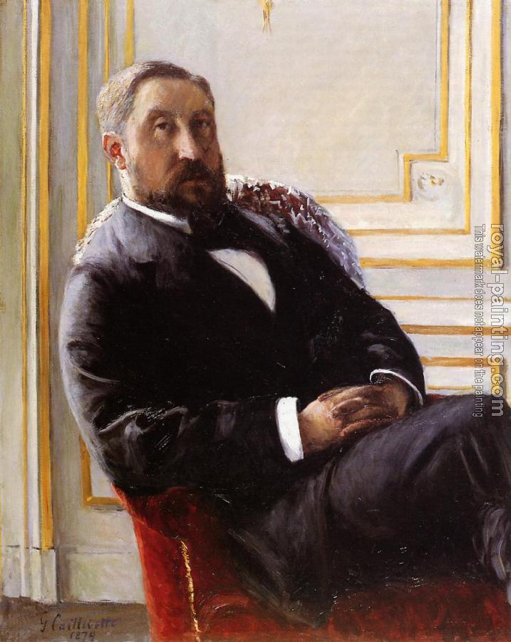 Gustave Caillebotte : Portrait of Jules Richemont
