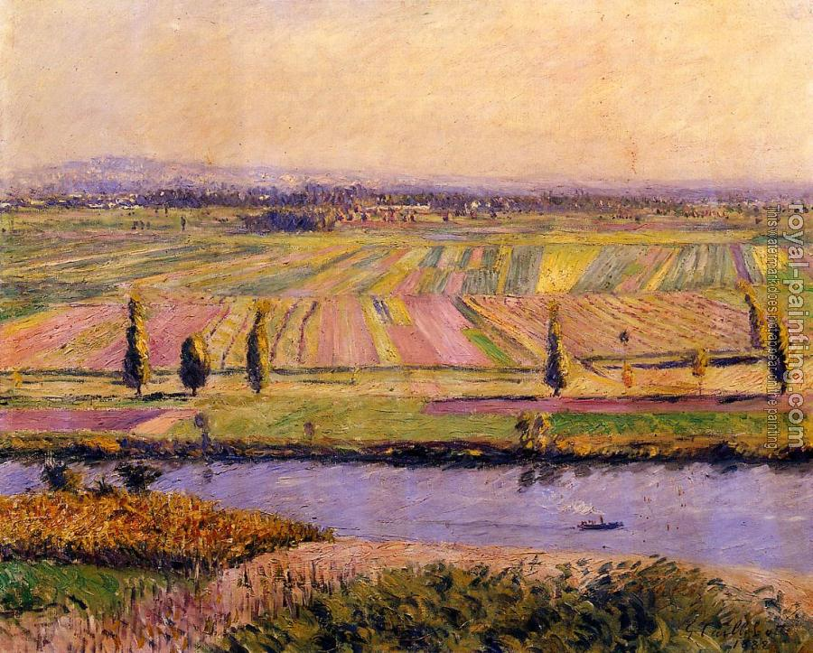 Gustave Caillebotte : The Gennevilliers Plain Seen from the Slopes of Argenteuil
