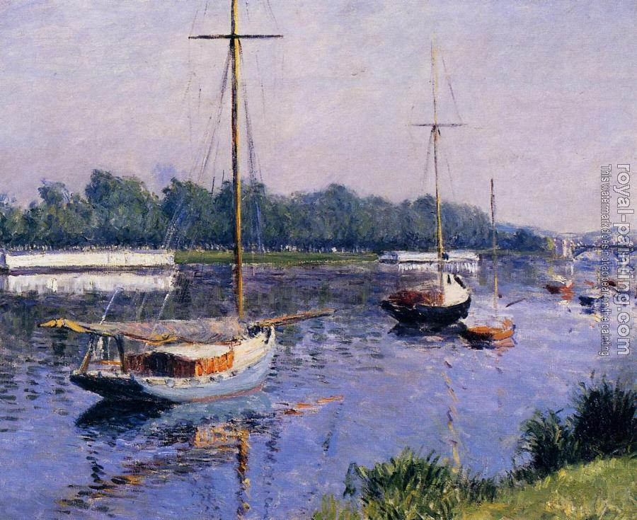 Gustave Caillebotte : The Basin at Argenteuil