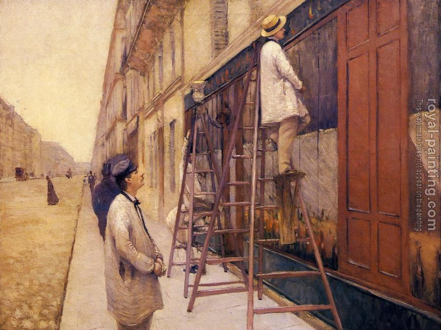 Gustave Caillebotte : The House Painters