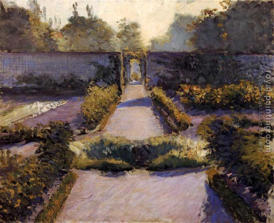 Gustave Caillebotte : The Kitchen Garden Yerres