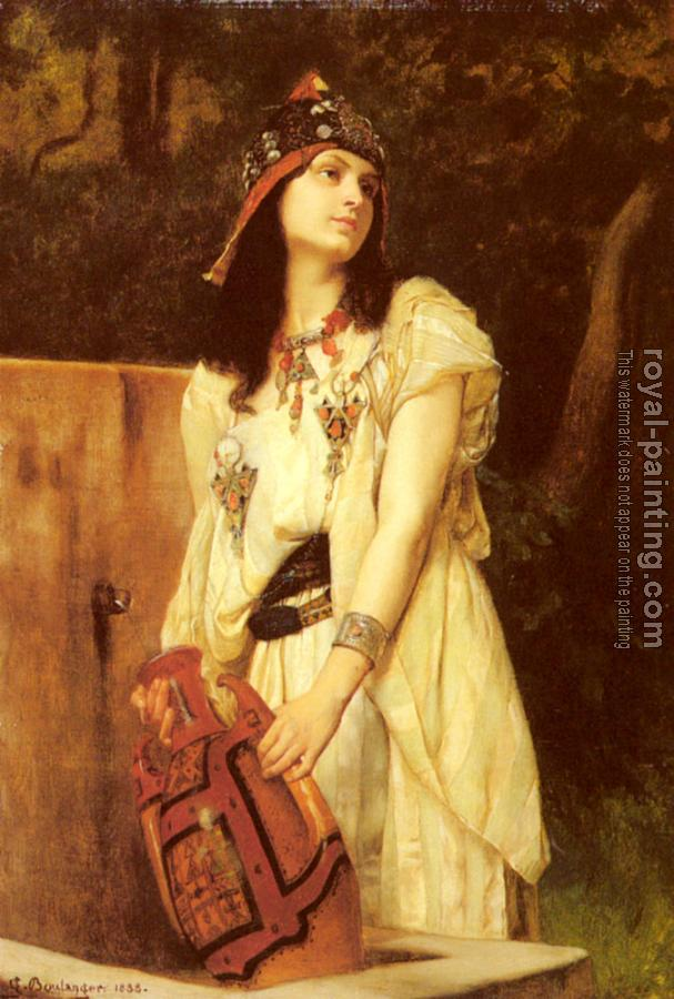 Gustave Clarence Rodolphe Boulanger : A Woman With An Urn