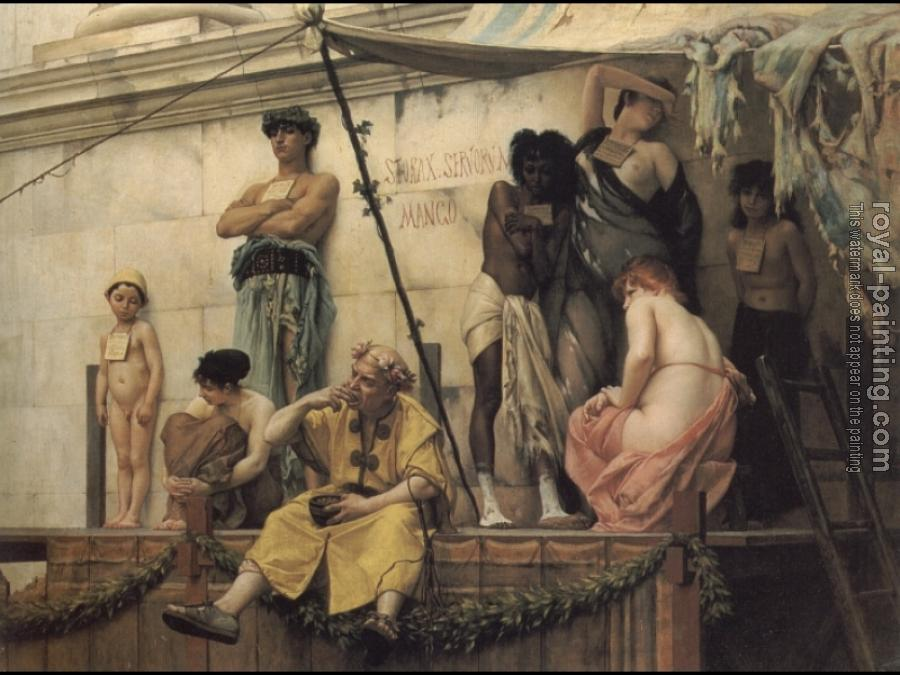 Gustave Clarence Rodolphe Boulanger : The Slave Market
