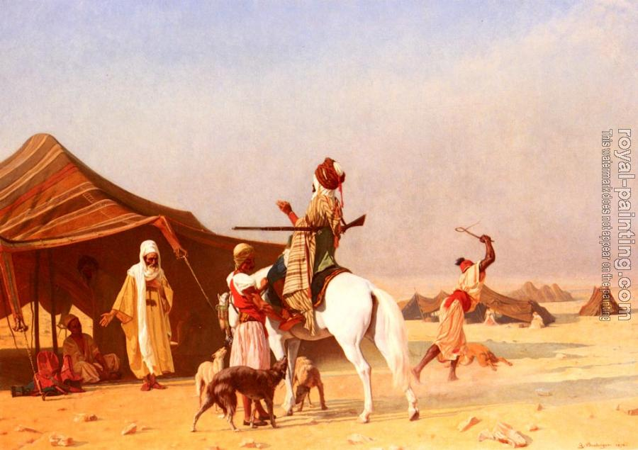 Gustave Clarence Rodolphe Boulanger : Un Emir