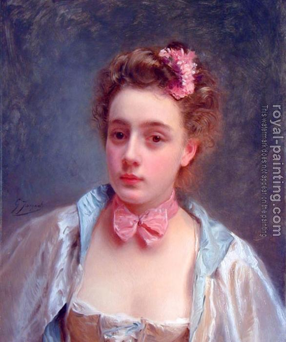 Gustave Jean Jacquet : Dressed for the ball