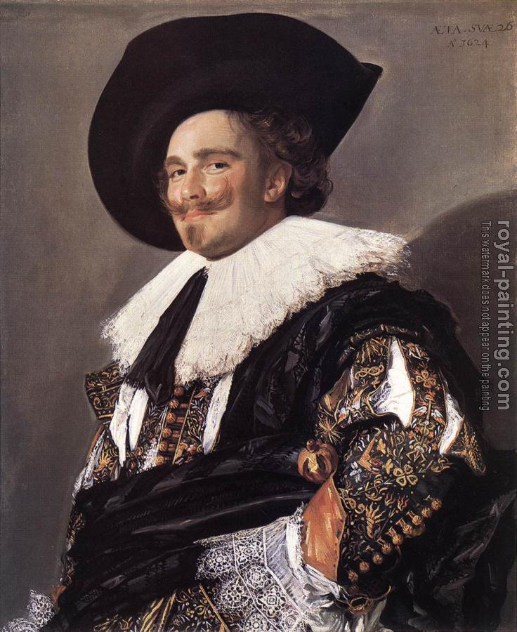 Frans Hals : The Laughing Cavalier II