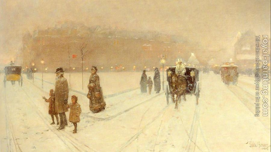 Childe Hassam : A City Fairyland
