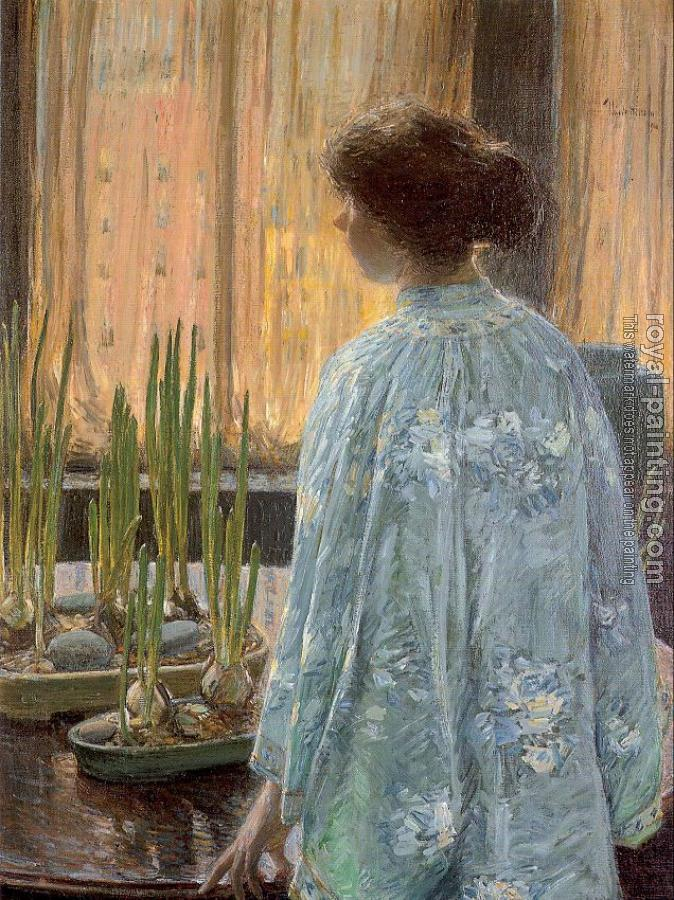 Childe Hassam : The Table Garden