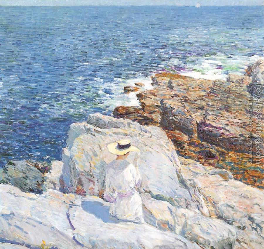 Childe Hassam : The South Ledges, Appledore