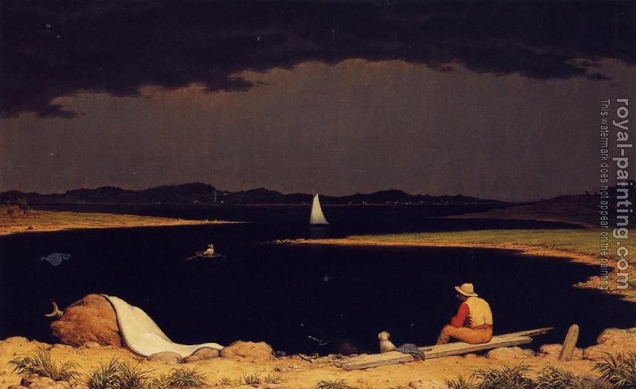 Martin Johnson Heade : Approaching Thunder Storm