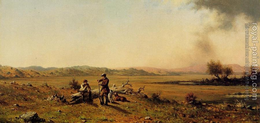 Martin Johnson Heade : Hunters Resting