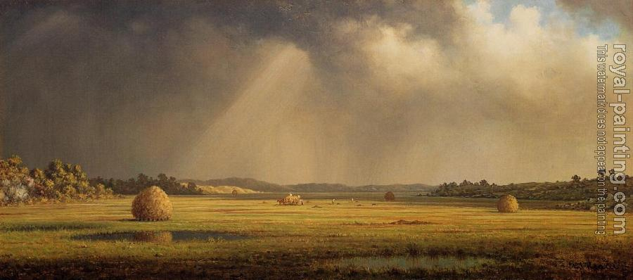 Martin Johnson Heade : Newburyport Meadows II