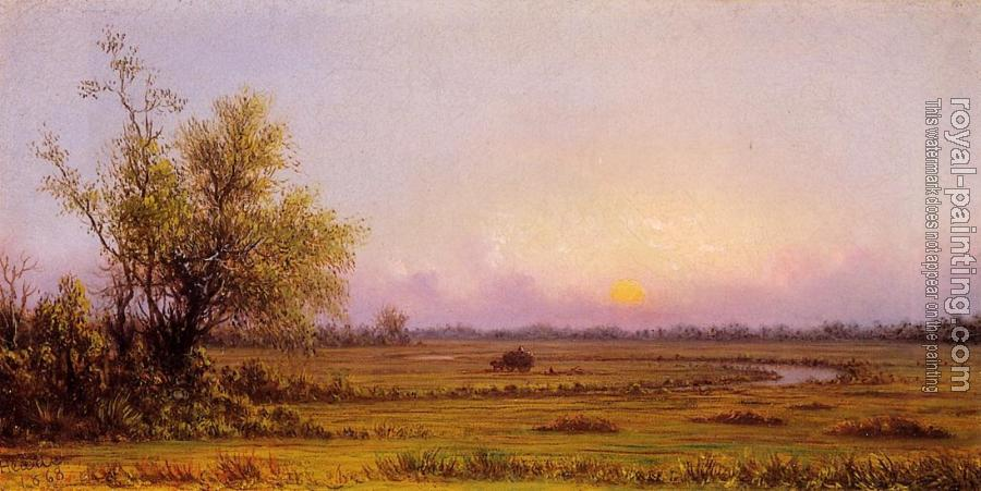 Martin Johnson Heade : Sinking Sun