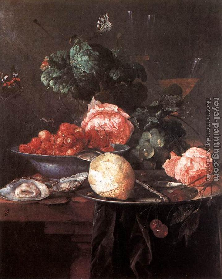 Jan Davidsz De Heem : Still-life with Fruits