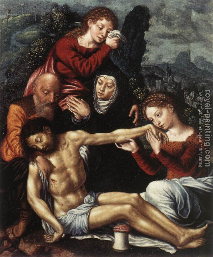 Jan Sanders Van Hemessen : The Lamentation of Christ
