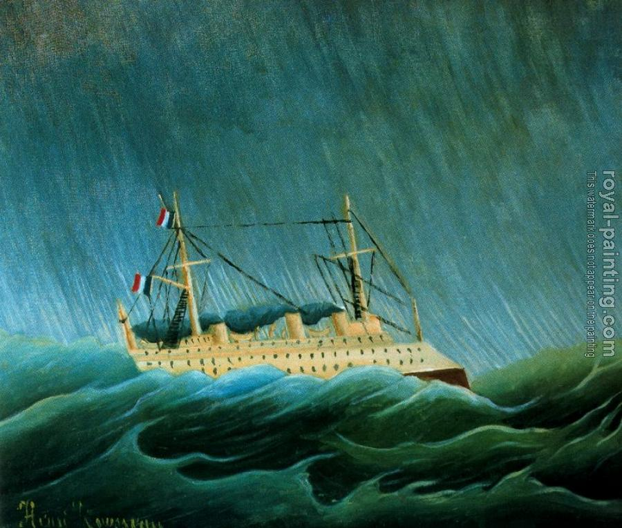 Henri Rousseau : The Storm Tossed Vessel