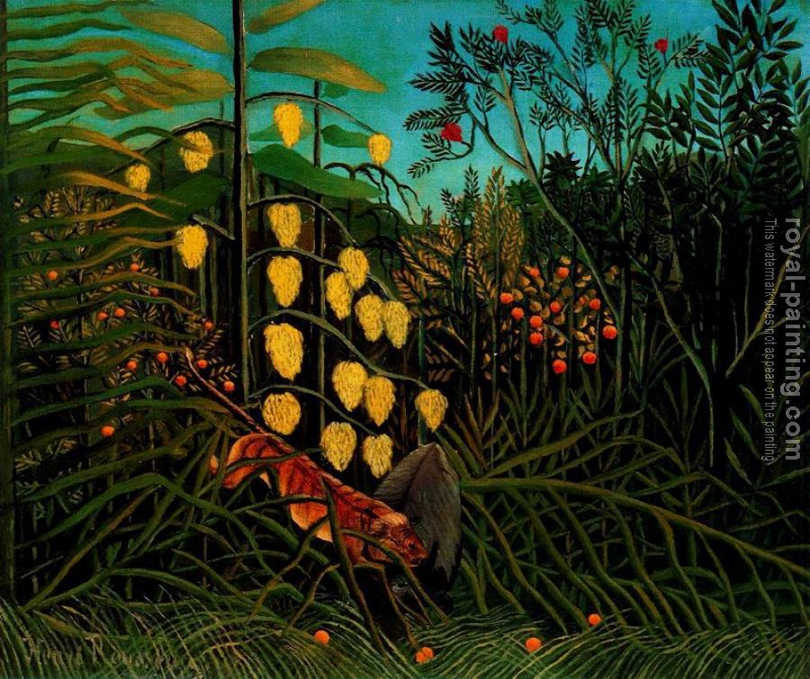 Henri Rousseau : Combat of a Tiger and a Buffalo