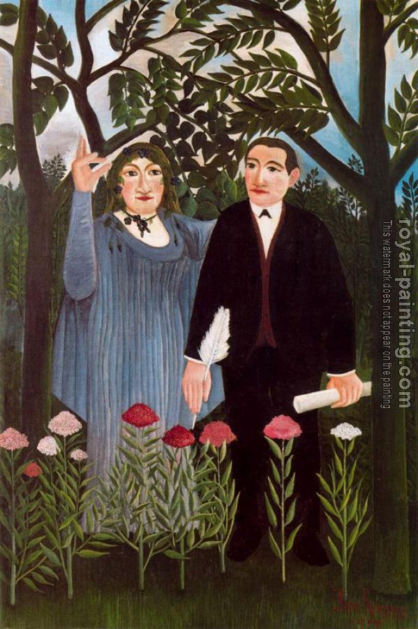 Henri Rousseau : The Muse Inspiring the Poet