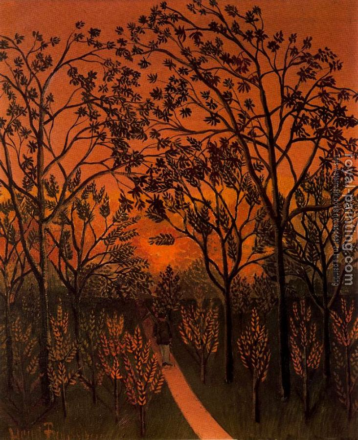 Henri Rousseau : Corner of the Plateau of Bellevue
