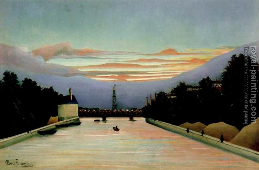 Henri Rousseau : The Eiffel Tower